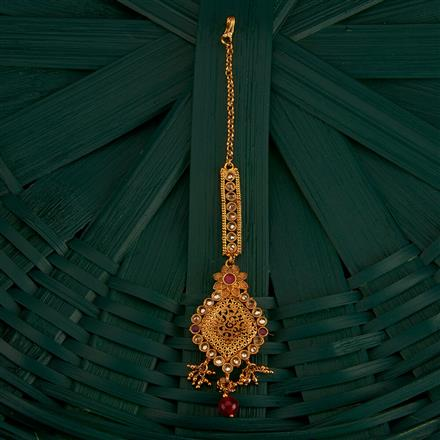 205220 Antique Classic Tikka With Gold Plating