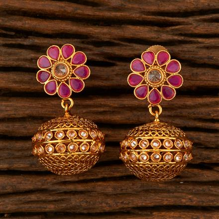 205241 Antique Classic Earring With Gold Plating