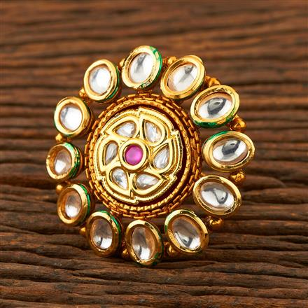 205247 Antique Classic Ring With Gold Plating