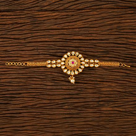 205249 Antique Classic Baju Band With Gold Plating