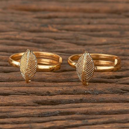 205294 Antique Classic Toe Ring With Gold Plating