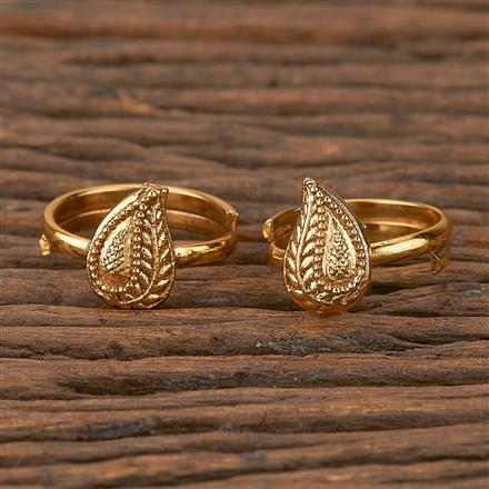 205295 Antique Classic Toe Ring With Gold Plating