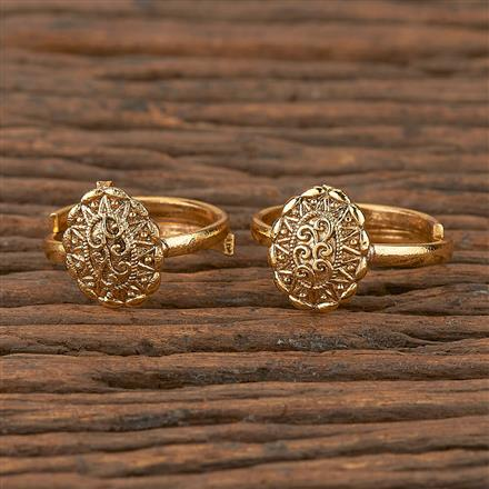 205296 Antique Classic Toe Ring With Gold Plating