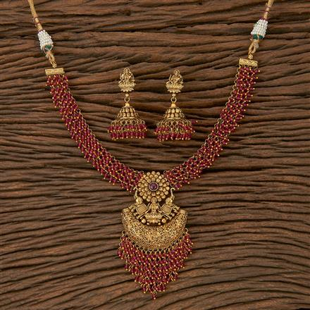 205310 Antique Temple Necklace With Gold Plating