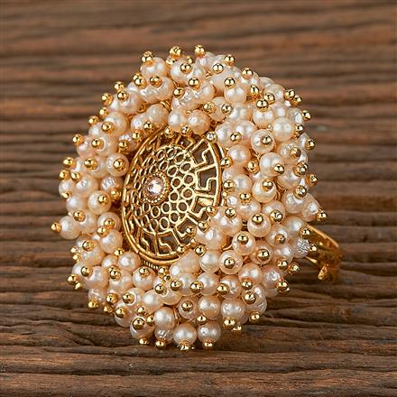 205322 Antique Classic Ring With Gold Plating