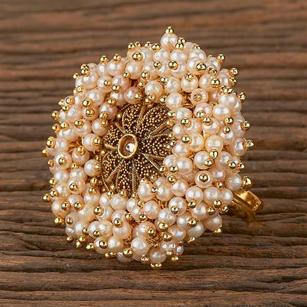 205323 Antique Classic Ring With Gold Plating