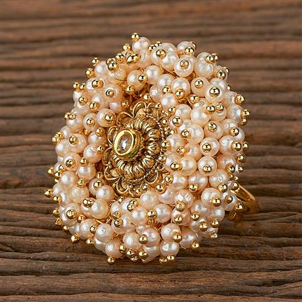 205324 Antique Classic Ring With Gold Plating