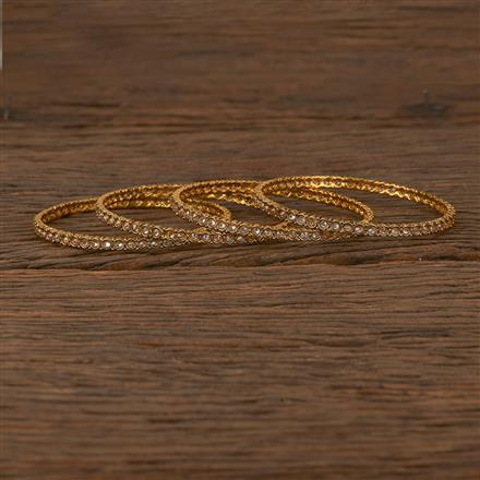 205340 Antique Delicate Bangles With Gold Plating