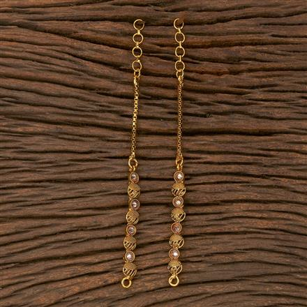 205387 Antique Classic Ear Chain With Gold Plating