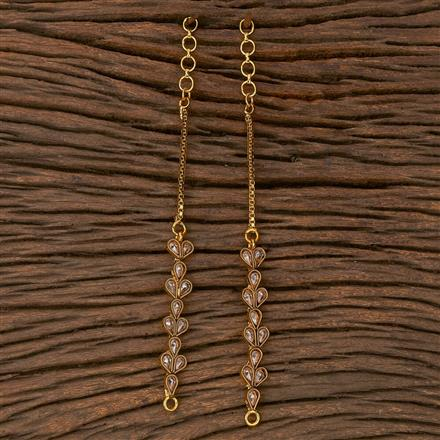 205390 Antique Classic Ear Chain With Gold Plating