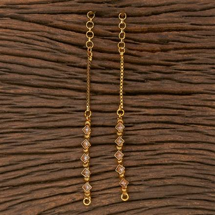 205391 Antique Classic Ear Chain With Gold Plating