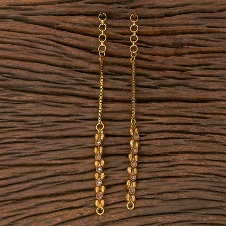 205392 Antique Classic Ear Chain With Gold Plating