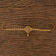 205483 Antique Plain Baju Band With Gold Plating