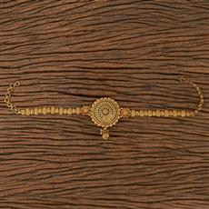 205486 Antique Plain Baju Band With Gold Plating