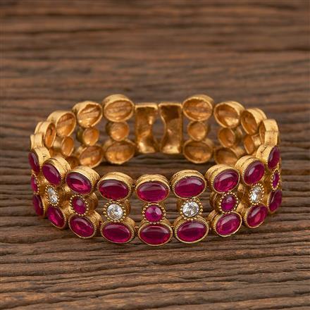 205570 Antique Adjustable Bracelet With Gold Plating
