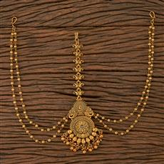 205686 Antique Classic Damini With Matte Gold Plating