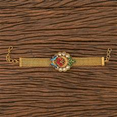 205776 Antique Classic Bracelet With Matte Gold Plating