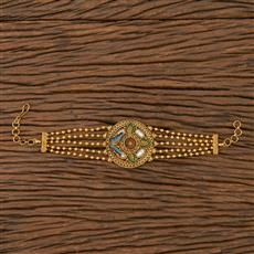 205779 Antique Classic Bracelet With Matte Gold Plating