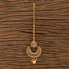 205850 Antique Chand Tikka With Gold Plating