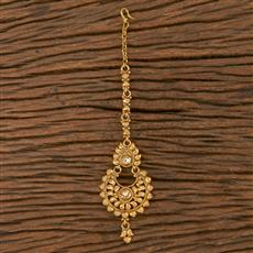 205856 Antique Chand Tikka With Gold Plating