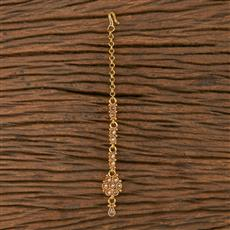 205858 Antique Delicate Tikka With Gold Plating