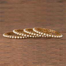 206029 Antique Classic Bangles With Mehndi Plating