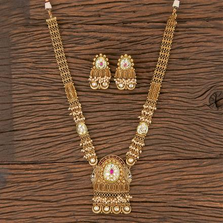 206073 Antique Classic Pendant Set With Gold Plating
