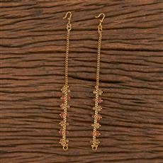 206121 Antique Classic Ear Chain With Gold Plating