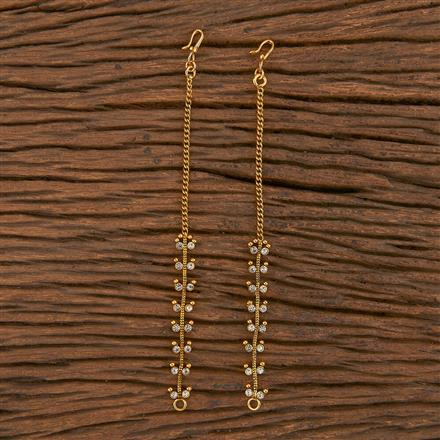 206122 Antique Classic Ear Chain With Gold Plating