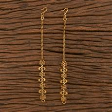 206123 Antique Classic Ear Chain With Gold Plating