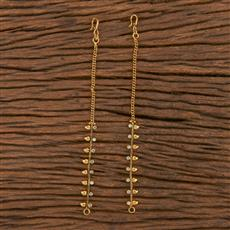 206126 Antique Classic Ear Chain With Gold Plating