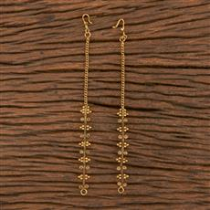 206127 Antique Classic Ear Chain With Gold Plating