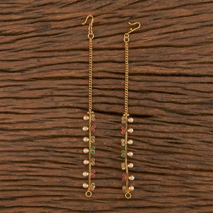 206129 Antique Classic Ear Chain With Gold Plating