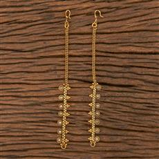 206137 Antique Classic Ear Chain With Gold Plating