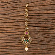206151 Antique Chand Tikka With Gold Plating