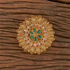 206193 Antique Classic Brooch With Gold Plating