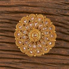 206194 Antique Classic Brooch With Gold Plating