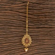 206211 Antique Classic Tikka With Gold Plating
