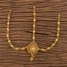 206271 Antique Plain Damini With Gold Plating