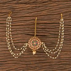 206299 Antique Classic Damini With Gold Plating