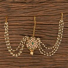 206300 Antique Classic Damini With Gold Plating
