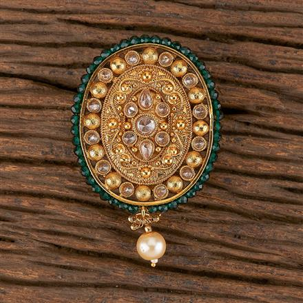 206303 Antique Classic Brooch With Gold Plating