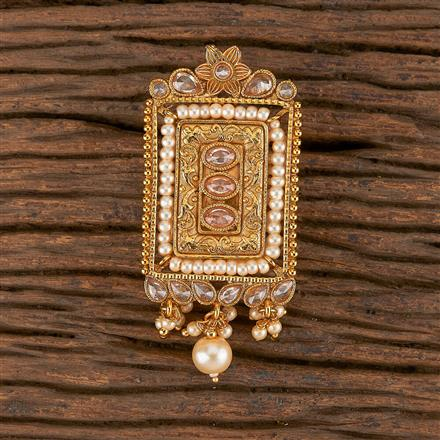 206304 Antique Classic Brooch With Gold Plating