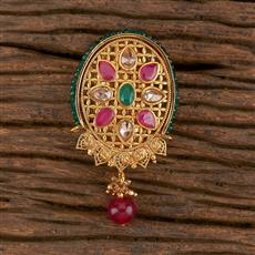 206305 Antique Classic Brooch With Gold Plating