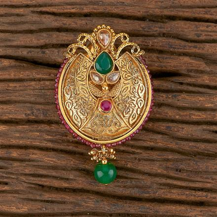 206310 Antique Classic Brooch With Gold Plating