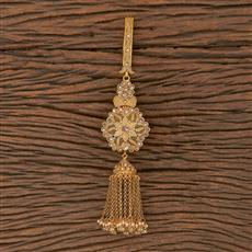 206315 Antique Classic Jhuda With Gold Plating