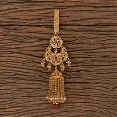 206316 Antique Classic Jhuda With Gold Plating