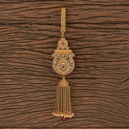 206317 Antique Classic Jhuda With Gold Plating