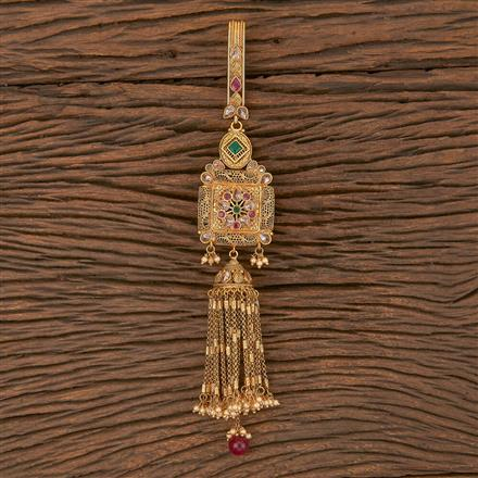 206318 Antique Classic Jhuda With Gold Plating