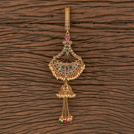 206320 Antique Classic Jhuda With Gold Plating